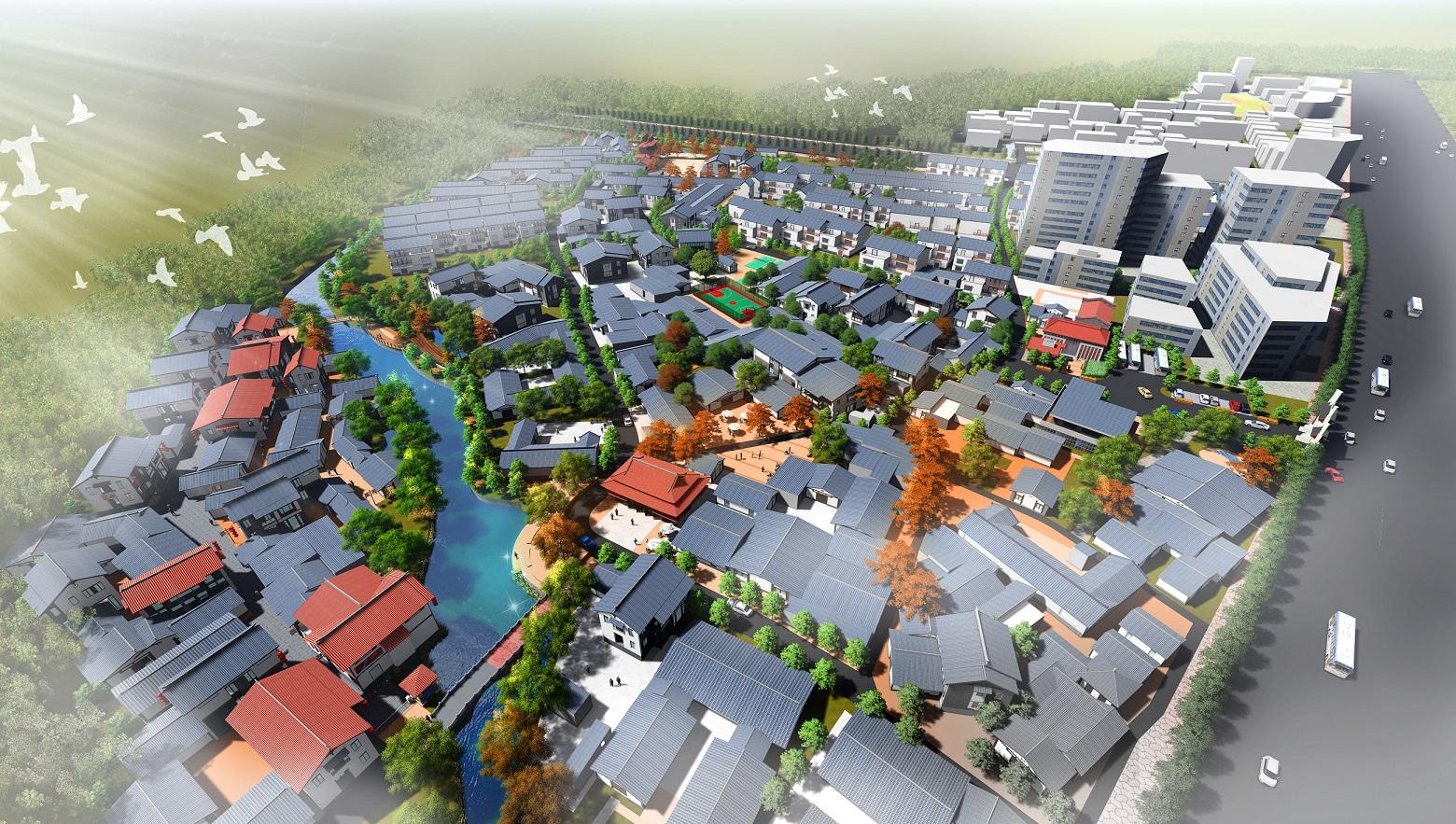 惠州市博罗县罗阳街道观背村美丽乡村村庄规划
