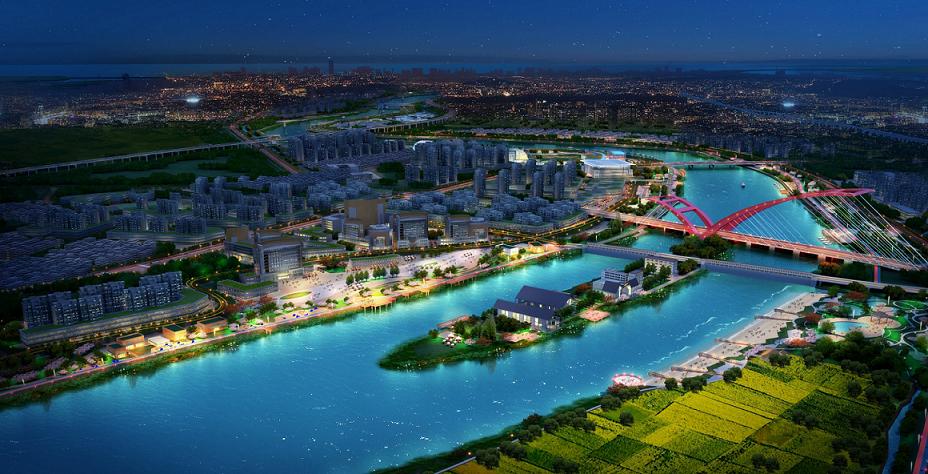汕头市新津河一河两岸景观工程规划设计